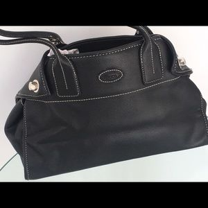 Tods leather Black satchel